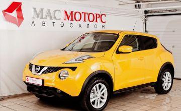Nissan Juke Желтый